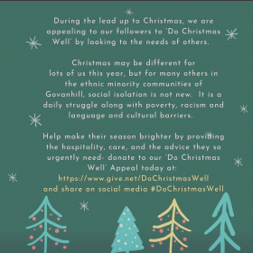Christmas Appeal for the Well